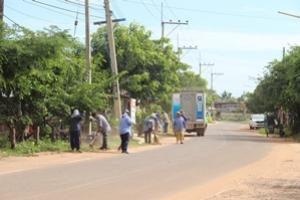 โครงการชุมชนสะอาด ปลอดโรค หมู่ที่ 2 ประจาปีงบประมาณ 2559 กองทุนหลักประกันสุขภาพระดับท้องถิ่น เทศบาลตาบลจระเข้หิน