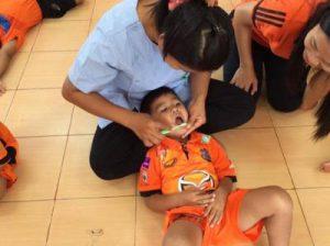 โครงการศูนย์เด็กเล็กสุขภาพดีไม่มีฟันผุ บ้านไผ่ ประจำปีงบประมาณ 2559 กองทุนหลักประกันสุขภาพระดับท้องถิ่น เทศบาลตาบลจระเข้หิน