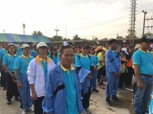 โครงการชุมชนสะอาด ปลอดโรค หมู่ที่ 3 ประจาปีงบประมาณ 2559 กองทุนหลักประกันสุขภาพระดับท้องถิ่น เทศบาลตาบลจระเข้หิน