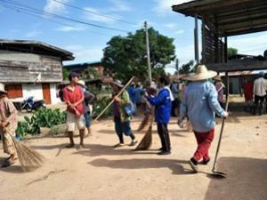 โครงการชุมชนสะอาด ปลอดโรค หมู่ที่ 8