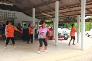 โครงการส่งเสริมการออกกำลังกายในกลุ่มประชาชนบ้านไผ่ หมู่ที่ 4,6