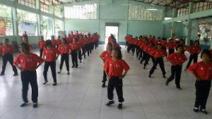 """โครงการออกกำลังกายเพื่อสุขภาพ """"ขยับกายสบายชีวิตด้วยวิธีเต้นแอโรบิค"""""""