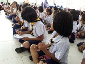 โครงการส่งเสริมสุขภาพช่องปากเด็กวัยเรียนในเขตเทศบาลตำบลจระเข้หิน