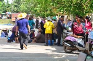 กิจกรรม คลองสวยน้ำใส ประชาชนมีสุข ตามโครงการกำจัดวัชพืชในคลองจระเข้หิน โดยเทศบาลตำบลจระเข้หินร่วมกับผู้นำทุกหมู่บ้าน โรงงานน้ตาลครบุรีและพี่น้องประชาชนทุกท่าน