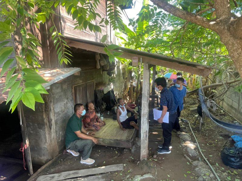 ลงพื้นที่บ้านไผ่หมู่ที่ 4 เพื่อช่วยเหลือเเละหาเเนวทางเเก้ไขสาเหตุน้ำท่วม